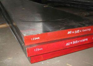 1.2344 H13 SKD61 ferramenta de aço plana