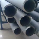 254SMO UNS S31254 Tubo soldado sem costura