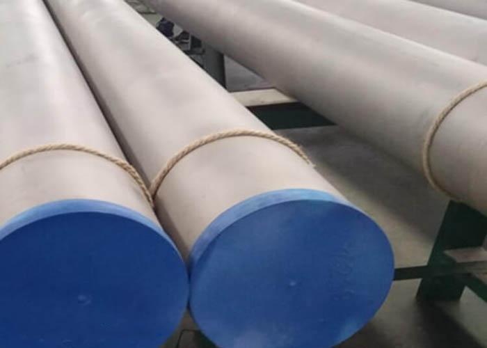 Tubo de aço inoxidável duplex ASTM A790 UNS S31803 S32750 S32760