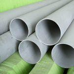 Tubos e tubos soldados sem costura 317 / 317L de aço inoxidável