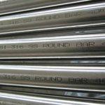 Barra Redonda de Aço Inoxidável ASTM A276 AISI 316
