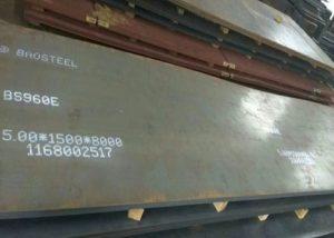 960 placa de aço de alta resistência