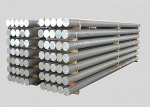 1080,2A11,3003,4A11,5754,6082,7A05 Barra de liga de alumínio