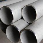 Tubo de aço inoxidável de grande diâmetro 347 / 347H