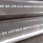 Tubo / tubulação de baixa temperatura ASTM A333