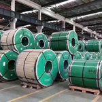 Bobina de aço inoxidável com ASTM JIS DIN GB