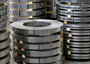 201 304 316 309 tira de aço inoxidável laminado a frio com 2B / BA / No.4 / HL / superfície espelhada