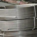 Tubo de bobina de aço inoxidável soldada sem costura 304 316