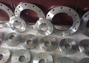 flanges de aço inoxidável 253MA, S31254, 904L, F51, F53, F55